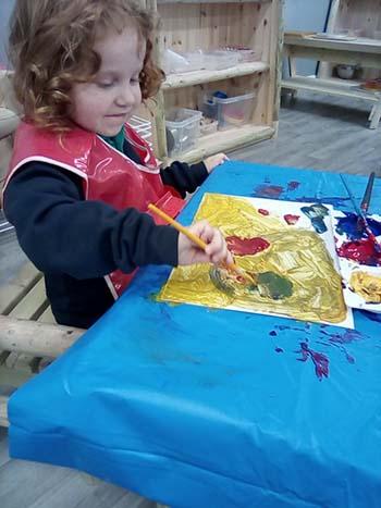 Making a masterpiece
